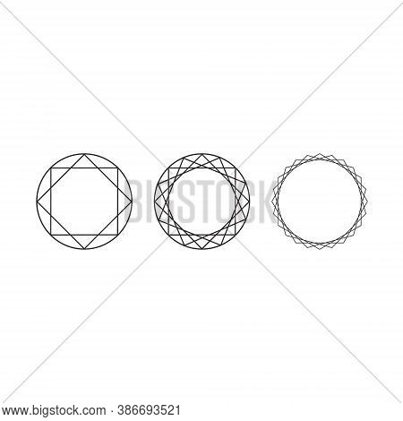 Jewelry Logo Diamond Set Collection - Fashion Gold Luxury Lux Ring Beauty Woman Feminine Glamour Sty