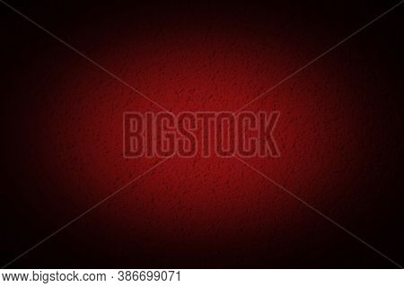 Horror Background Concept For Halloween Abstract Red Bloody Color With Black Scary Mystical Dark Vig