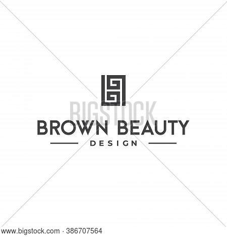 Double B Letter Lettermark Logo Bb Monogram - Typeface Type Emblem Character Trademark