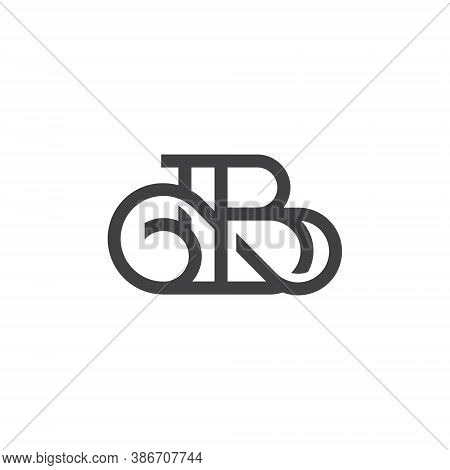B Letter Lettermark Logo Monogram - Typeface Type Emblem Character Trademark