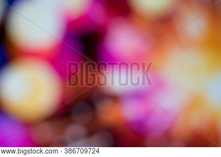 Abstract Backgrounds With Bokeh Defocused Lights And Shadow