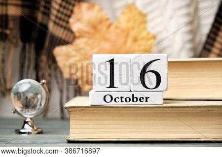 Sixteenth Day Of Autumn Month Calendar October.