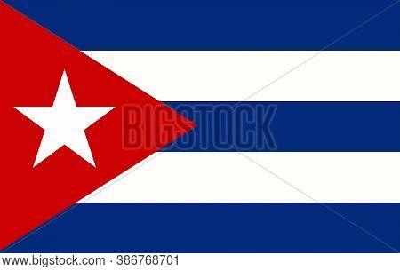 Vector Cuba Flag, Cuba Flag Illustration, Cuba Flag Picture, Cuba Flag Image,