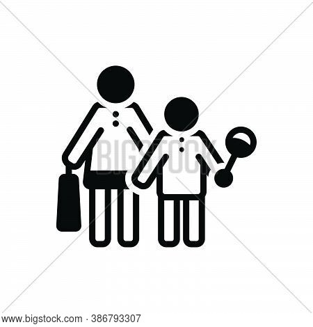 Black Solid Icon For Buy-toy Buy Toy Baby Happy Parents Consumable Purchase Shopping Consumer Prospe