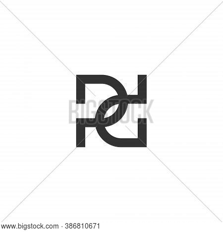 P D Letter Lettermark Logo Pd Monogram - Typeface Type Emblem Character Trademark