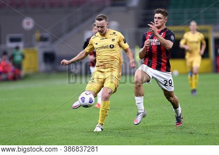 Milano, Italy. 24th September 2020. Uefa Europa League. Marius Lode Of Bodo/glimt. In Action   Durin