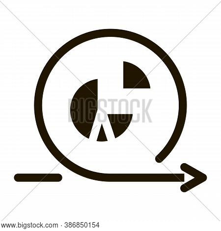 Hourglass Sandglass On File Agile Element Glyph Icon . Agile Rocket And Document, Gear And Package,