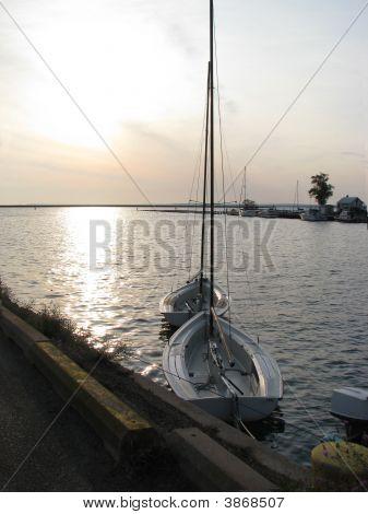Sunrise At The Harbor