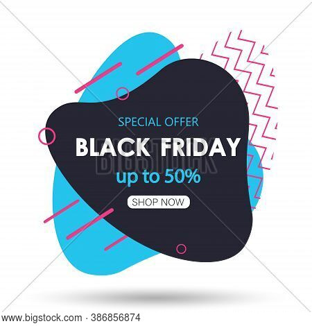 Black friday sale banner.Black friday sale banner. Celebration Balloon Sales Black Friday on a Grey background. Balloons Black Friday. Balloons Black friday with gold realistic bow on the black background. bow realistic. Black Friday