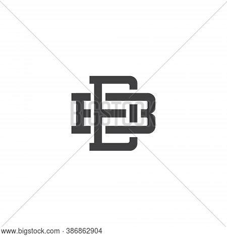 B D Letter Lettermark Logo Bd Monogram - Design Element Typeface Type Vintage Sign Emblem Typeset Co