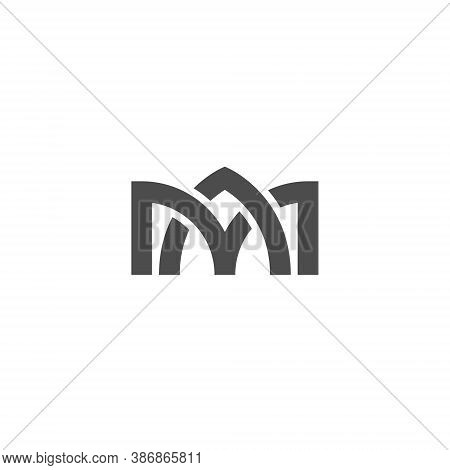 Ma Letter Lettermark Logo M A Monogram - Typeface Type Emblem Character Trademark