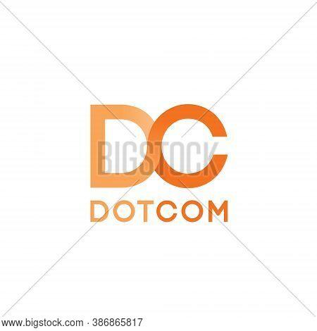 Dc Letter Lettermark Logo D C Monogram - Typeface Type Emblem Character Trademark