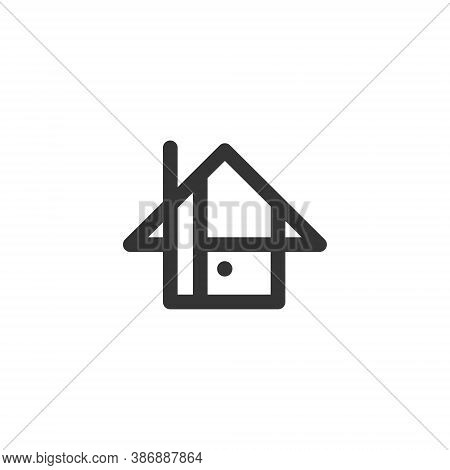 Real Estate Logo Design - House Rent Home Agent Business Property Apartment Office Urban Rent City S