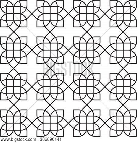 Arabic Pattern Background - Mandala Flower Ethnic Lotus Floral Meditation Zen Yoga Abstract Geometri