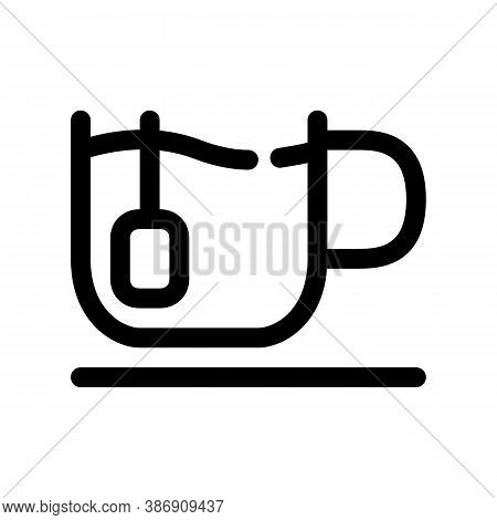 Cup Of Tea Outline Icon. The Item From Set Dedicated To Coffee And Coffee Shops, As Well As Related