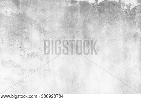 Abstract White Grunge Cement Or Concrete Wall Texture Background, White Cement Wall Texture For Inte