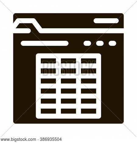 Player Table Betting And Gambling Icon Vector . Contour Illustration