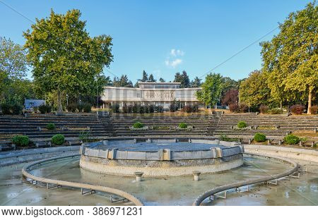 Belgrade / Serbia - September 26, 2020: The Museum Of Yugoslavia, With Josip Broz Tito\'s Grave Loca