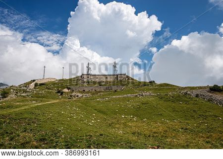 Forte Di Naole, 1913, Italian Military Fortress Of The First World War, Built On The Alps (monte Bal