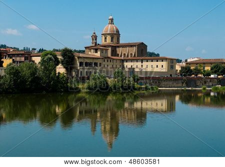 Parrocchia San Frediano In Cestello. Florence, Italy