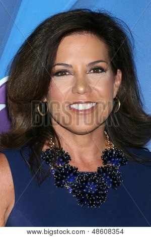 LOS ANGELES - JUL 27:  Michele Tafoya at the NBC TCA Summer Press Tour 2013 at the Beverly Hilton Hotel on July 27, 2013 in Beverly Hills, CA