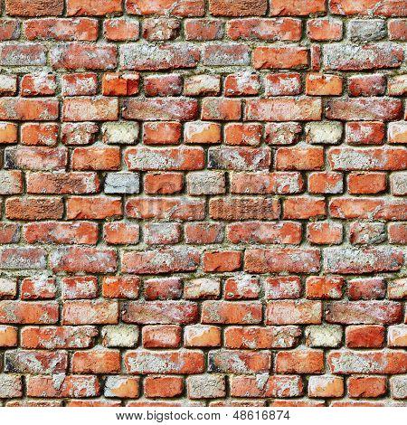 Seamless Pattern - Brick Wall Grunge Background