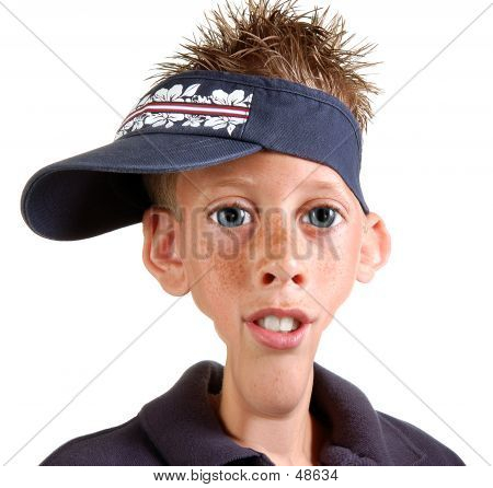 Young Boy Caricature