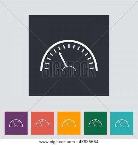Speedometer Icon.