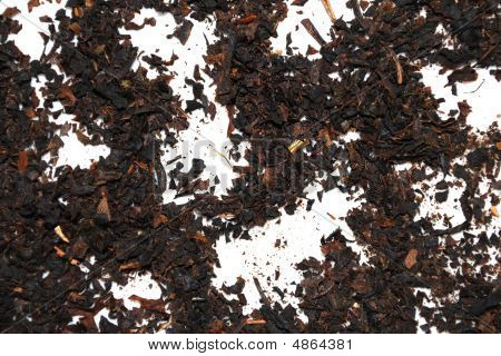 Tea Powder Background