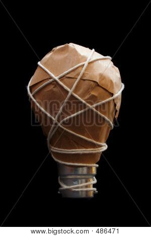Light Globe Idea  Wrapped