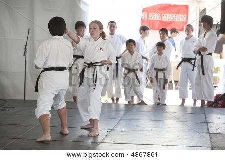 Demostración de Karate
