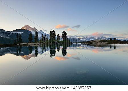 Elfin Lake Sunset