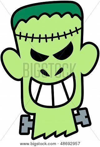 Freche Halloween Frankenstein