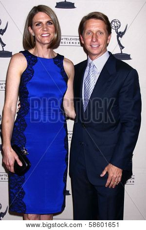 Colleen Bell and Brad Bell at the Daytime Emmy Nominees Reception presented by ATAS, Montage Beverly Hills, CA 06-13-13