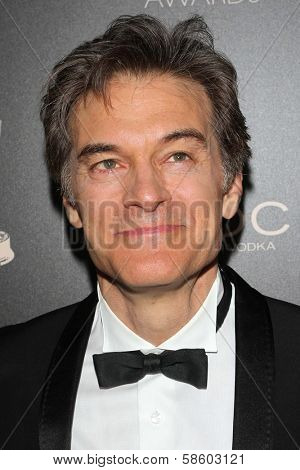 Mehmet Oz at the 40th Annual Daytime Emmy Awards, Beverly Hilton Hotel, Beverly Hills, CA 06-16-13