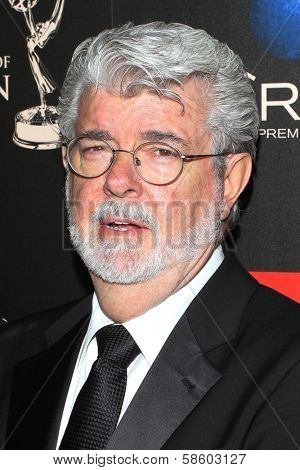 George Lucas at the 40th Annual Daytime Emmy Awards, Beverly Hilton Hotel, Beverly Hills, CA 06-16-13