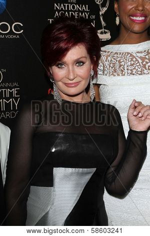 Sharon Osbourne at the 40th Annual Daytime Emmy Awards, Beverly Hilton Hotel, Beverly Hills, CA 06-16-13