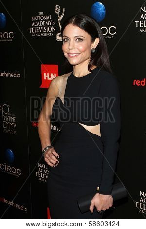 Bethenny Frankel at the 40th Annual Daytime Emmy Awards, Beverly Hilton Hotel, Beverly Hills, CA 06-16-13
