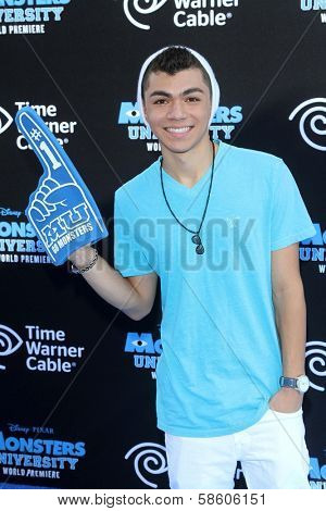 Adam Irigoyen at the
