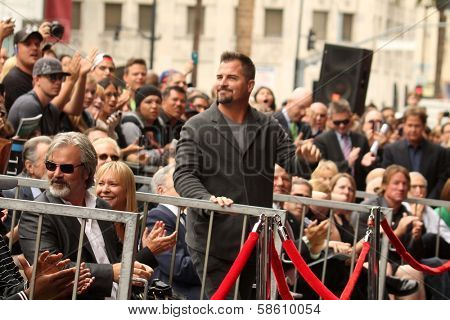 George Eads at the Jerry Bruckheimer Star on the Hollywood Walk of Fame ceremony, Hollywood, CA 06-24-13