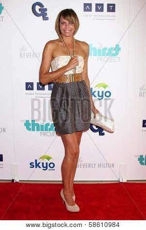 Arianne Zucker at the 4th Annual Thirst Gala, Beverly Hilton Hotel, Beverly Hills, CA 06-25-13