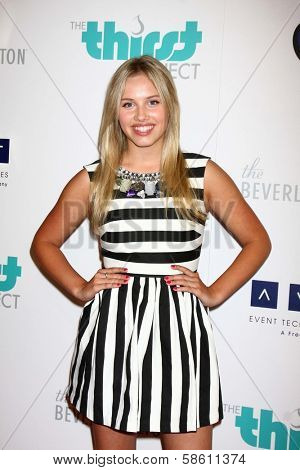 Gracie Dzienny at the 4th Annual Thirst Gala, Beverly Hilton Hotel, Beverly Hills, CA 06-25-13