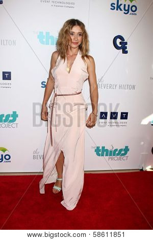 Olesya Rulin at the 4th Annual Thirst Gala, Beverly Hilton Hotel, Beverly Hills, CA 06-25-13