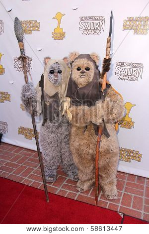 Ewoks at the 39th Annual Saturn Awards, The Castaway, Burbank, CA 06-26-13