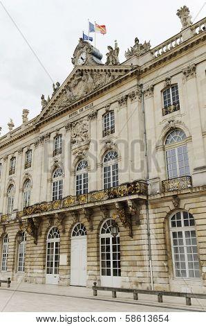 City Hall Of Nancy, France