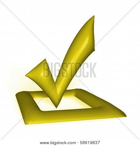 Checkbox 3D