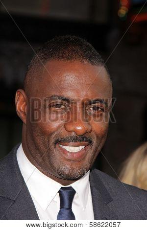 Idris Elba at the
