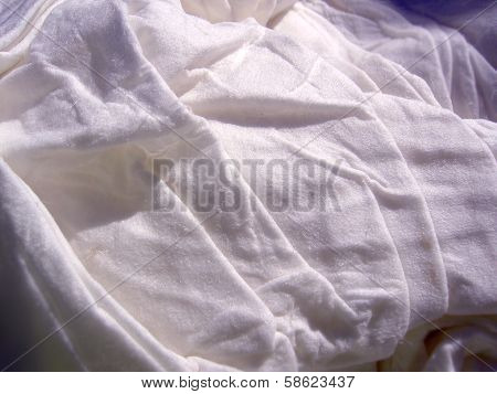 Macro photography of wet paper