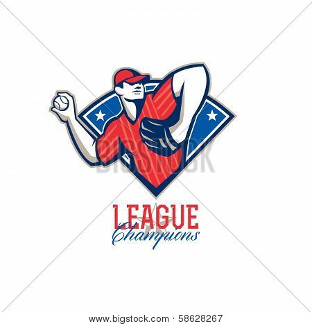 League Champions Baseball Retro