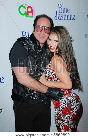 Andrew Dice Clay and Valerie Vasquez at the